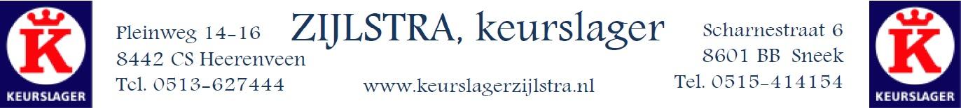 Logo Slagerij Zijlstra