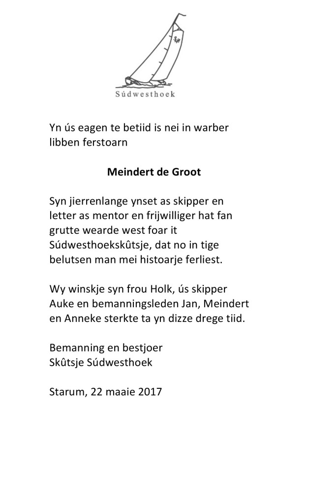 Microsoft Word - tekst rouwadvertentie Meindert.docx