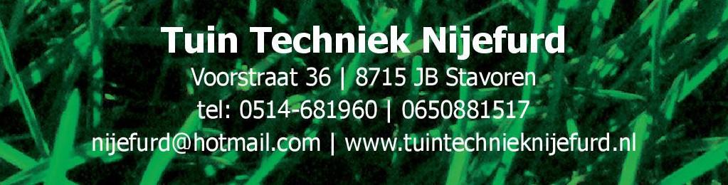 Tuintechniek Nijefurd 1
